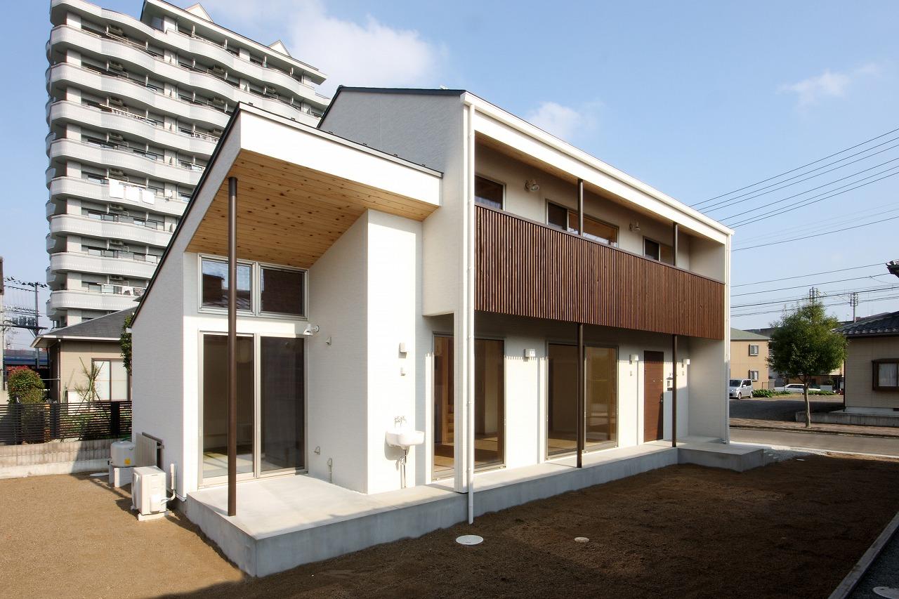 自然素材のウィズガス住宅