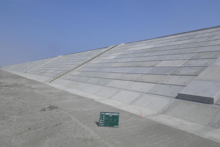 仙台湾南部海岸蒲崎工区北部第1復旧工事